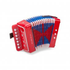 Accordeon, rood