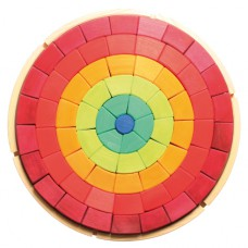 Gigantische blokkenpuzzel kleurencirkel, Grimm's