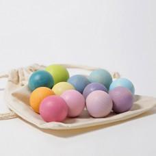 Kleine ballen pastelkleuren, Grimm's