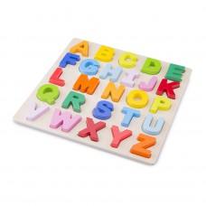 Alfabet puzzel hoofdletters
