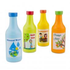 Houten drinkflesjes, New Classic Toys