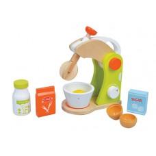 Houten mixer, Lelin