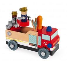 Brandweerauto constructie, Janod Brico'Kids