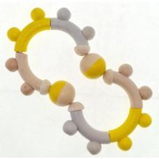 Flexibele rammelaar Acht geel, Hess