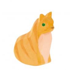 Kat zittend, Ostheimer