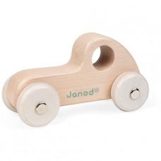 Houten raceauto naturel, Janod Sweet Cocoon