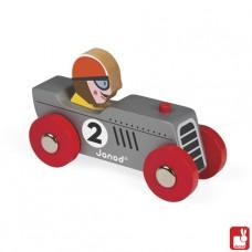 Story zilveren raceauto Retromotor, Janod