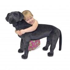 Grote zwarte labrador, Melissa & Doug