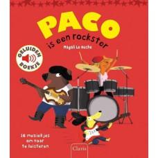 Paco is een rockster geluidenboek