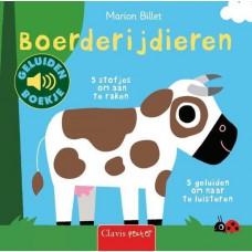 Boerderijdieren, voel- en geluidenboek