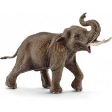 Aziatische olifant mannetje, Schleich