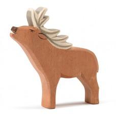 Hert met gewei, Ostheimer