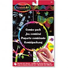 Scratch Art combo pack, Melissa & Doug
