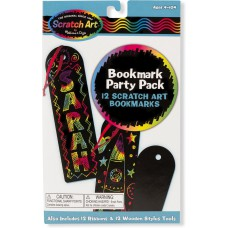 Scratch Art Party Pack boekenleggers, Melissa & DougScratch Art Party Pack boekenleggers, Melissa & Doug