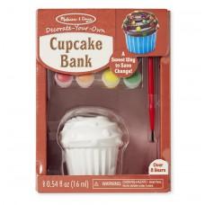 DIY spaarpot cupcake, Melissa & Doug