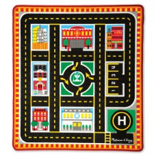 Rescue Rug speelkleed met auto's, Melissa & Doug
