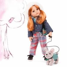 Pop Hannah en haar hond, Goetz - XL
