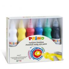 Plakkaatverf 6 kleuren, PrimoPlakkaatverf 6 kleuren, Primo