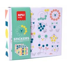 Stickerbox geometrische dieren, Apli