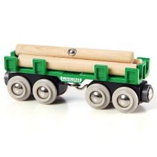 Treinwagon houttransport, Brio