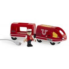 Oplaadbare trein met USB kabel, Brio