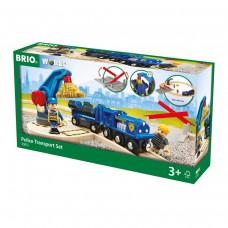 Treinset politie transport, Brio