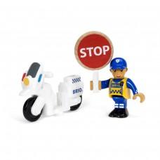 Politiemotor en agent, Brio
