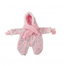 Roze winterpakje babypop M, Goetz