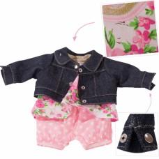 Kledingset Roses & Spots, babypop S, Goetz