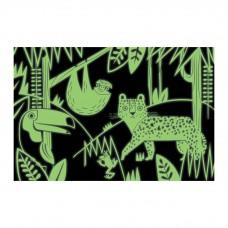 Glow-in-the-dark puzzel Rainforest, Mudpuppy