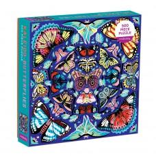 Puzzel Kaleido-vlinders, Mudpuppy