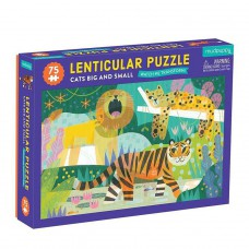 Lenticulair puzzel Cats Big and Small 75 st, Mudpuppy