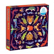 Puzzel Kaleido-wilde dieren, Mudpuppy