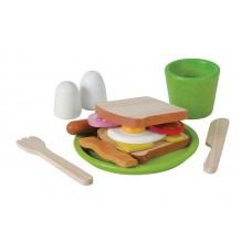Ontbijtmenu, Plan Toys