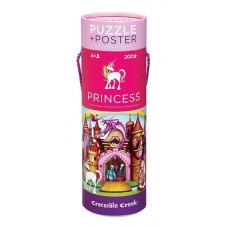 Puzzel & poster Prinsessenpaleis, Crocodile Creek
