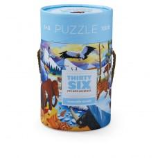 36 IJstijd dieren puzzel 100 stukjes, Crocodile Creek