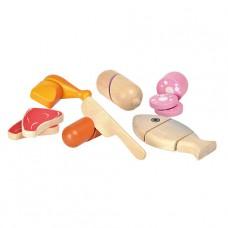 Vlees en vis, Plan Toys