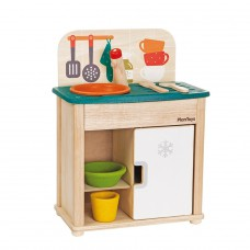 Sink & Fridge minikeukentje, Plan Toys
