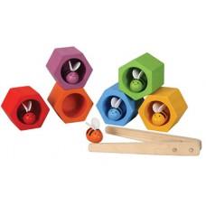 Bijenkorf behendigheidsspel, Plan Toys