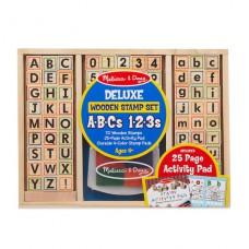 stempelset cijfers & letters, Melissa & Doug
