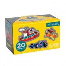 20 Magneten Voertuigen, Mudpuppy