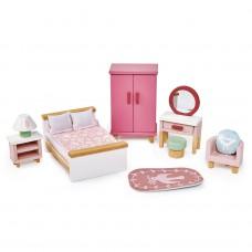 Slaapkamer poppenhuis, Tender Leaf Toys
