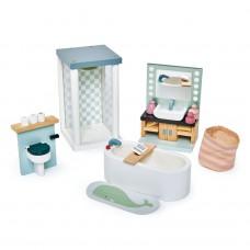 Badkamer poppenhuis, Tender Leaf Toys