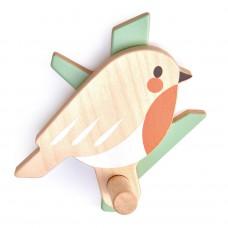 Wandhaakje roodborstje, Tender Leaf Toys