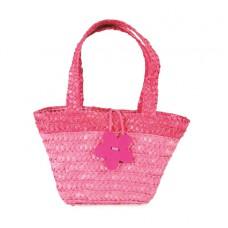 Rieten tasje roze, Egmont Toys