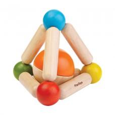 Grijpspeeltje driehoek, Plan Toys