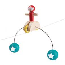 Rijdende acrobaat, Plan Toys