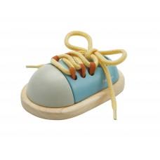 Veterstrik schoen, Plan Toys Orchard Collection