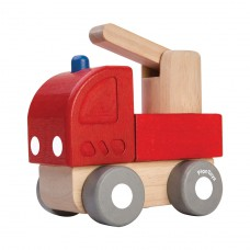 Mini brandweerwagen, Plan Toys