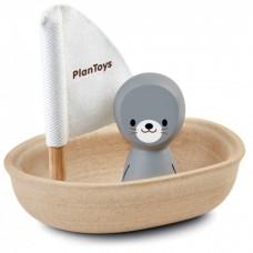 5710 Zeilboot zeehond Plan Toys